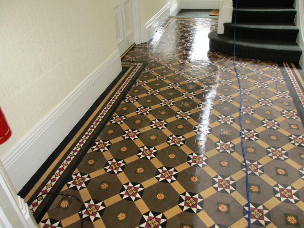 Victorian Tiled Hallway Restoration in Richmond