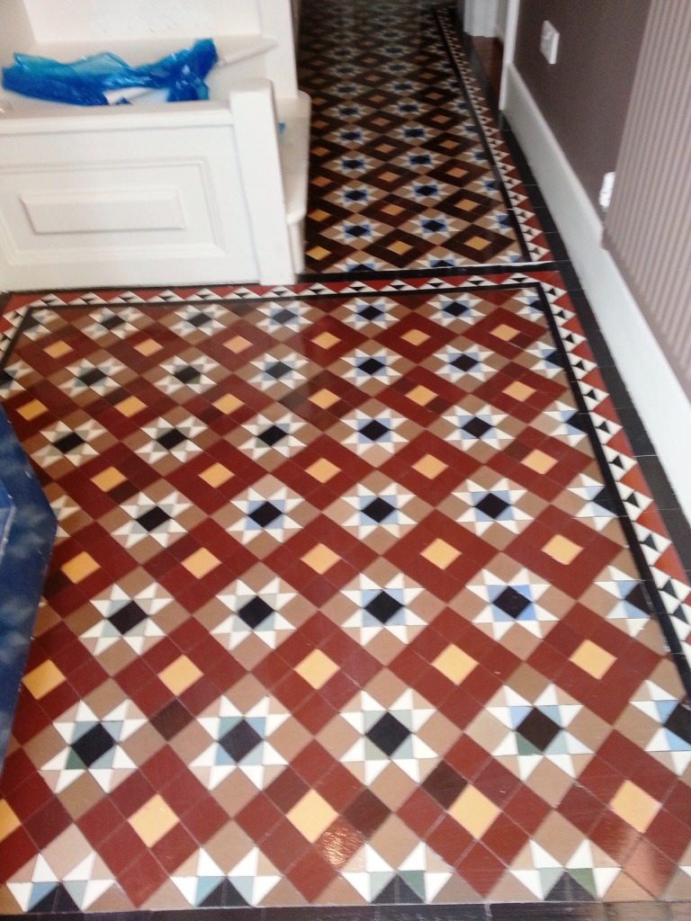 Victorian Tiled Hallway Cleaning in Richmond