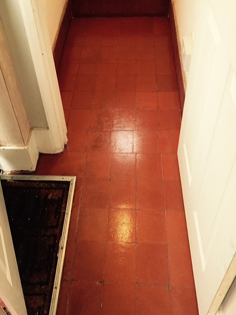 Quarry Tiled Floor After Renovation Coulsdon