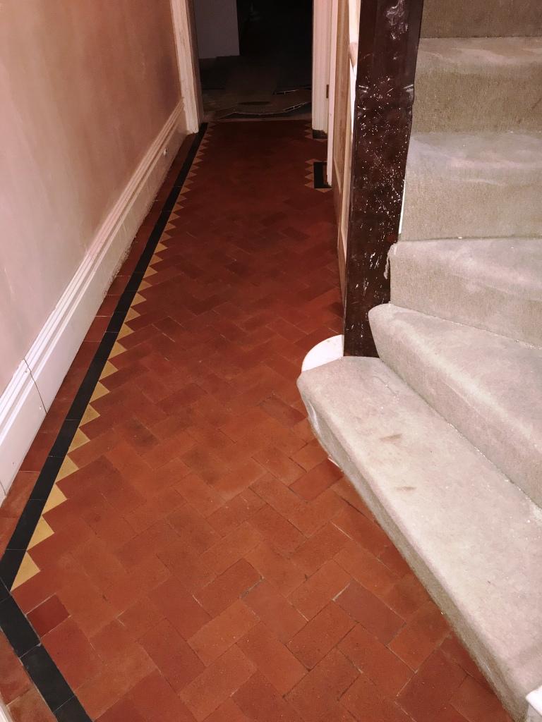 Victorian Tiled Hallway After Restoration Tooting